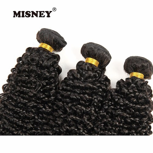 Brazilian Non Remy Hair Jerry Curl 3 Bundles Natural Black Color 100g/pc 100% Human Hair Exensions