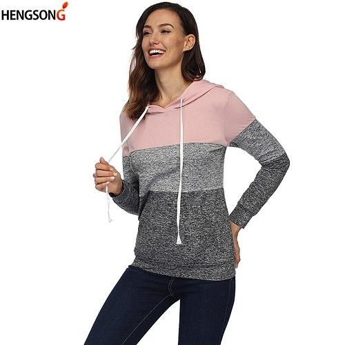 Hip Hop Street Wear Sweatshirts Outdoor Skateboard Woman Pullover Hoodies Striped Running Jacket 2020 New Women Tracksuit
