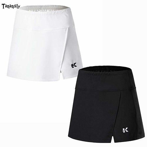 Women tennis skirt 2 In 1 Double layer skorts ladies Sports Skirts woman Badminton Yoga Golf Jogging Skirt daily Anti Leakage