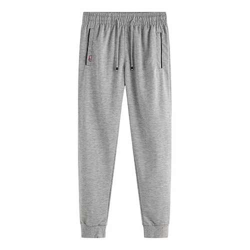 Men's Sports Pants 2021 Spring Autumn Running Pants Workout Active Trousers Slim Skinny Legs Jogging Pants Joggers Plus Size 6XL