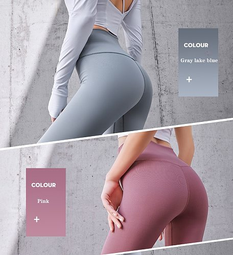 Women Yoga Pants Sports Exercise Fitness Running Trousers Gym Slim Compression Leggings Sexy Hips High Waist pants