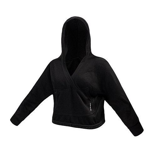 City Stroll Hoodie Female Running Sweatshirts Kangaroo Pocket Loose Fit Women Long sleeve Yoga Sweater Gym Fitness Clothing Top