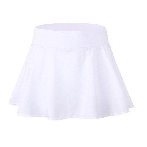 Women Athletic Quick-drying Workout Short Gym Fitness Girls High Waist Skirt Tennis Running Skirt Beach Dress Sportswear Woman