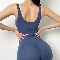 SOISOU Sexy Top Women Bra Nylon White Top Breathable Sports Bra For Women Gym Corset Bralette Removable Chest Pad 6 Colors