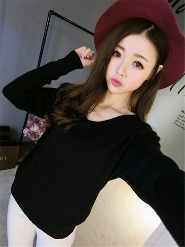 Hiking Soft Sweaters For Girls Wool Shirts For Women Good Quality Hot Sale Female Sweater