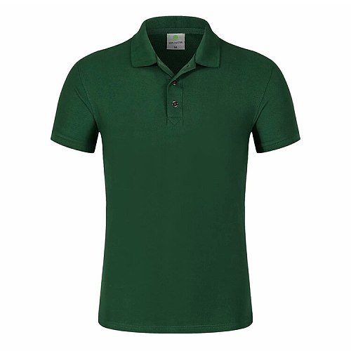 Factory Price! Custom Logo Your Own Design Printed polo shirt men Short Sleeve team activities publicize work clothes