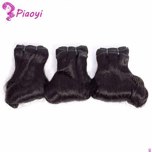 Brazilian Hair Weave human hair egg curly fumi wave Natural Black 3pcs/Lot 100% Human Hair Bundles Remy Hair Extensions