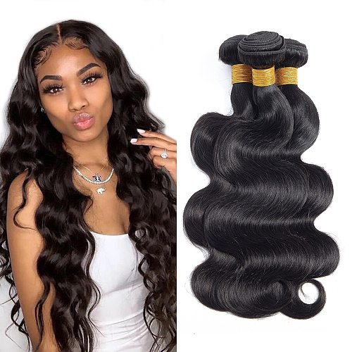 Tinashe Beauty Body Wave Bundles Brazilian Hair Weave Bundles Human Hair weave 3 Pieces Non-Remy Hair For Black Woman