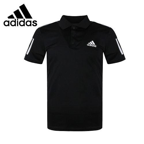Original New Arrival  Adidas CLUB 3STR POLO Men's POLO  short sleeve Sportswear