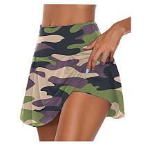2020 Athletisch Golf Sport Einfarbig Workout Volleyball S-3XL Tennis Running Skort Skirt Active Athletic Yoga Fitness Skirts