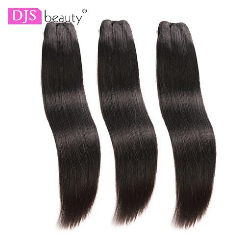 Straight Bundles Peruvian Virgin Hair Weave Bundles Human Hair Bundles Extension 3pcs Raw DJSbeauty Hair Products