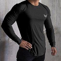 New Long Sleeve T Shirt Sport Men Gym Shirt Quick Dry Gym Fitness Training Running t shirt Men Workout T-Shirt Bodybuilding Tops