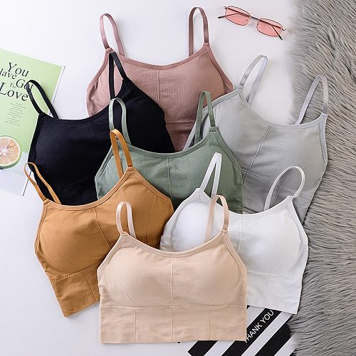 Women Bras Breathable Sports Bra Anti-sweat Shockproof Padded Yoga Bra Athletic Gym Running Fitness Workout Wear Tops