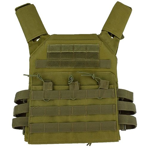 Plate Carrier Army Vest Tactical Equipment for JPC Wargame Military Vest armor Vest Hunting Vest Black Paintball CS Protective