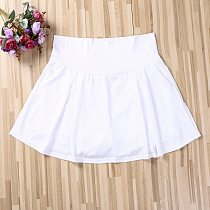 Summer Sports Tennis yoga Skorts Fitness Short Skirt Badminton breathable Quick drying Women Sport Anti Exposure Tennis Skirt