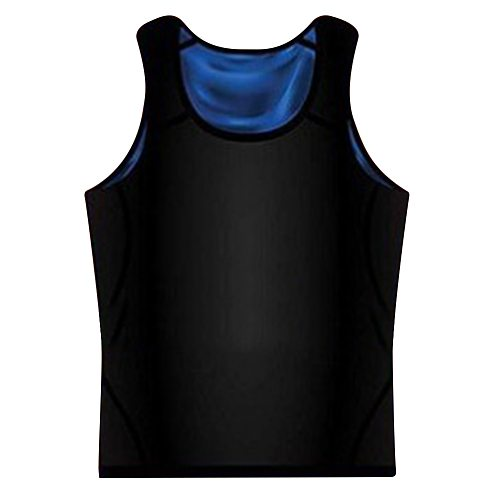 New Men hot body fat burning Sweat Shaper Sauna fitness vest Gym Tank Top Yoga Shirts Suit For Slimming Weight Loss Body Shaper