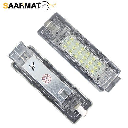 2Pcs  LED Luggage Lamp Car Trunk Compartment Lights For VW Golf Mk4 Mk5 Mk6 Mk7 Plus Jetta Passat CC AUTO Interior Dome Light
