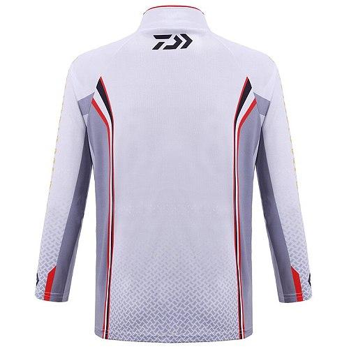 2020 Daiwa Fishing Shirts Men Professional Fishing Clothing Uv Protection Moisture Wicking Breathable Long Sleeve Camisas Pesca