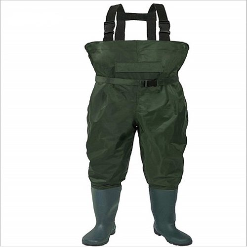 Men Fishing Pants Waterproof Anti-wear Non-slip Boots Outdoor Camping Working Farming Overalls Male Wading Trousers Jumpsuits