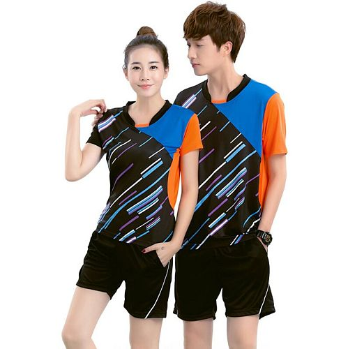 Men Women Child sport Jersey,polyester breathable fast drying Shorts Jersey Table tennis Suits Jersey, badminton Suits Jersey