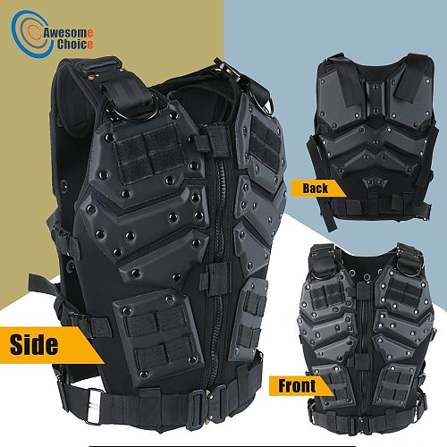Airsoft TF3 Tactical Vest CS Paintball Protective Tactical Vest Waistcoat with 5.56 Magazine Pouches for G.I JOE