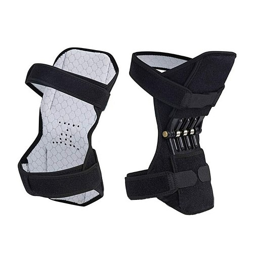 Non-slip Joint Support Knee Pads Knee Patella Strap Breathable Power Lift Spring Force Knee Booster Tendon Brace Band Pad