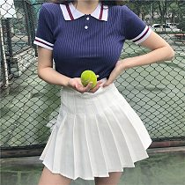 SALE Girls Short Dress High Waist Pleated Tennis Skirt Uniform with Inner Shorts Underpants for Cheerleader Pleated skirt