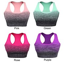 Running Vest Yoga Bra Pad Underwear Sports Bra Women Gym Tops For Fitness Breathable Active Wear Muliti Colors Training Vest