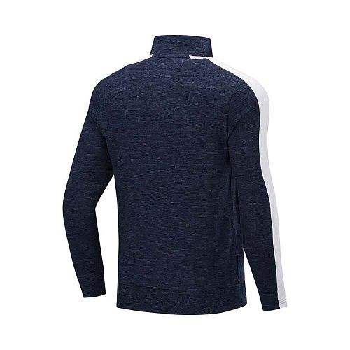 Li-Ning Men Wade Series Sweater Regular Fit 85% Cotton 15% Polyester LiNing Comfort Sports Sweaters AWDP441 CJAS19