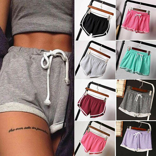 2021 New Fashion Women Sports Out Exercise Shorts Casual Ladies Beach Summer Running Gym Yoga Hot Pant