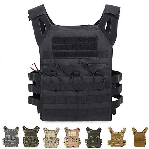 Hunting Body Armor Plate Carrier Tactical Vest Fashion Outdoor CS Game Paintball Airsoft Vest Military Gear Equipment SAA0095