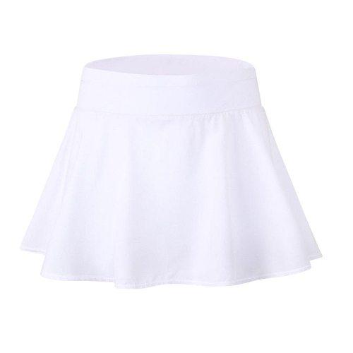 Sports Tennis yoga Fitness Short Skirt Badminton breathable Women  running gym Double layer Anti-Exposure ladies sports skirts