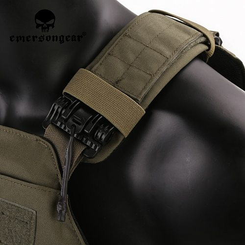 Emersongear Lightweight Quick Release LAVC ASSAULT PLate Carrier Vest Laser MOLLE Military Protect Tactical Hunting Airsoft Gear