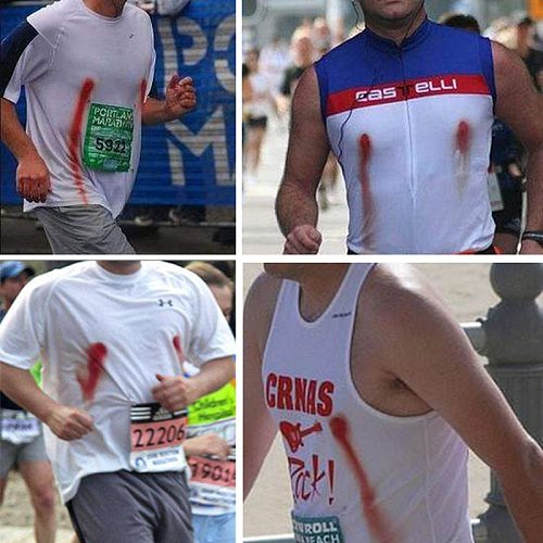 Marathon Nipple Stickers for Men Disposable Sports Protect Nipples from Bleeding