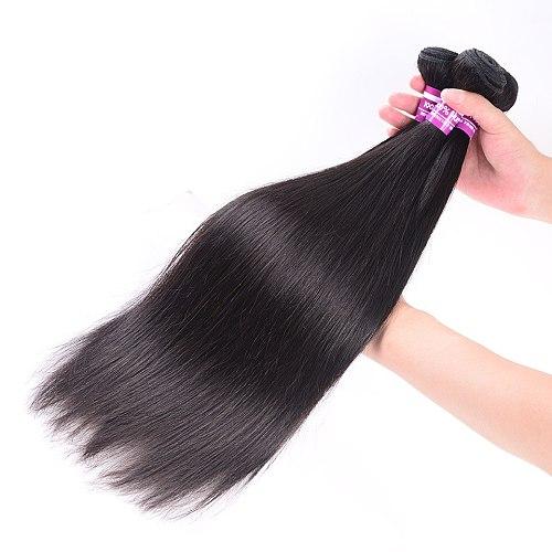 Human Hair Bundles Straight Hair Bundles Brazilian Hair Weave Bundles Remy Human Hair Body Straight Bundles Human Hair Bundle