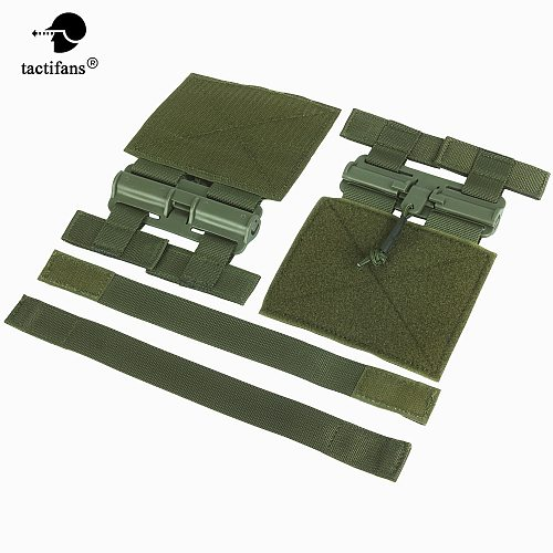 Tactifans Hunting Vest MOLLE Removal Buckle Set Quick Release System Kit For JPC CPC NCP XPC 6094 420 Men Tactical Accessories