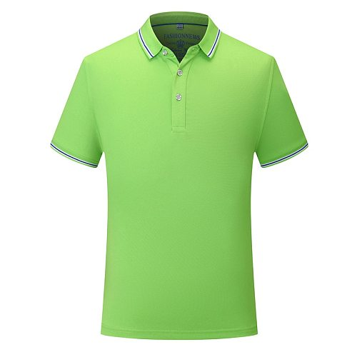 Breathable Summer Collar T Shirt Outdoor Sports Golf Tennis Camp Casual Lovers Couples Men Women Uinisex Short Sleeve Polo Shirt