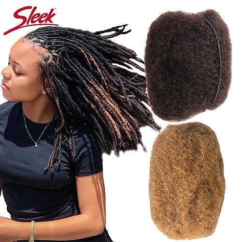 Sleek Peruvian Remy Hair Afro kinky Curly Bulk Human Hair For Braiding 1 Bundle 50g/pc Natural Color Braids Hair No Weft
