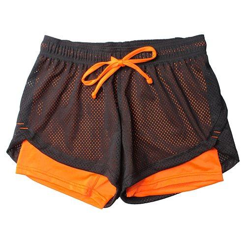 Sport Shorts Ladies Yoga Short Pants Summer Breathable Women's Sports Shorts Anti Emptied Short Pants Workout Push Up Шорты @40