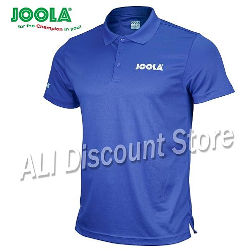 2019 new arrival JOOLA Table tennis clothes sportswear quick dry short sleeved men ping pong Shirt Badminton Sport Jerseys