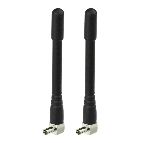 2Pcs Mini TS9 Antenna for ZTE(MF61) 4G LTE Modem MiFi Mobile WiFi Hotspot Router