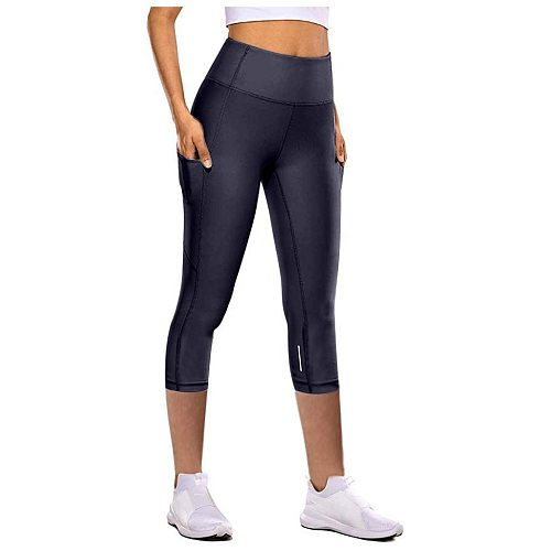 Sport Leggings Women Tight Elastic Quick Drying Yoga Pants Reflective Seven Point Yoga Pants Sweatpants Calzas Deportivas  @40