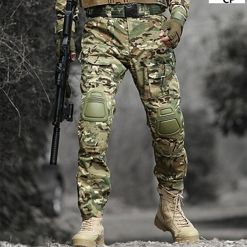 2019 High Quality  Military Cargo Tactical Pants Cotton Casual Camouflage Trousers Men Pantalon Army Tactical Sweatpants