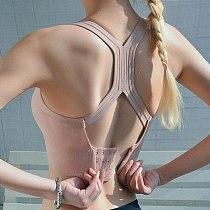 Cross Yoga Bra Top Sports Bra Women's Sports Top Hollow Breathable Crop Running Vest Push Up Female Fitness Athletic Sportswear