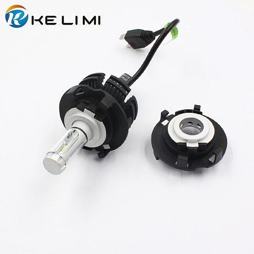KE LI MI H7 LED Head light Adapter For Hyundai MISTRA New TUCSON Car LED bulb conversion base retainer clips For KIA carnival H7