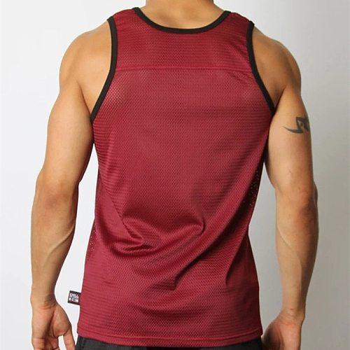 New GITF Gyms Muscular Mens Hirt Sleeveless Tank Tops Male Bodybuilding Sport Running Male Basketball Training Quick-drying Vest