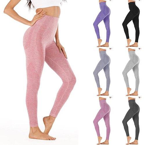 2021 High Waist Stretch Gym Leggings Seamless Shark Sports Leggings Running Sportswear Women Fitness Pants Yoga Pants Women