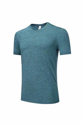 1809  Lake blue training t-shirt