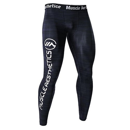 Men Leggings Compression Running Tights Sport Jogging Male Gym Fitness Pants Quick dry Trousers Workout Training Yoga Sweatpants
