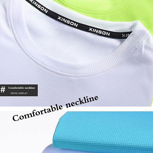 Running Shirts Soccer Shirts Men's Jersey Sportswear Men's Running T-Shirts Quick Dry Compression Sport T-Shirts Fitness Gym